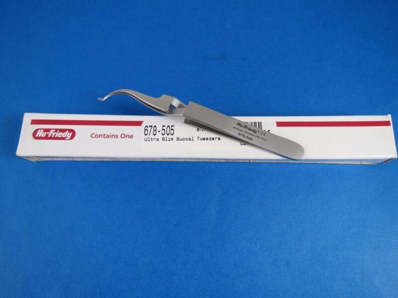 Ortho Plier Slim Buccal Tube Bonder Tweezers 678-505 HU FRIEDY