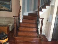 Stairs Recap/Refinish, Handrails, Spindles 365 773 3891
