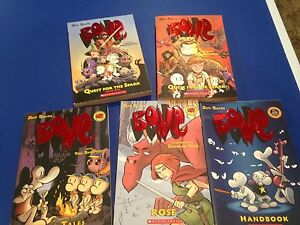 Bone book lot