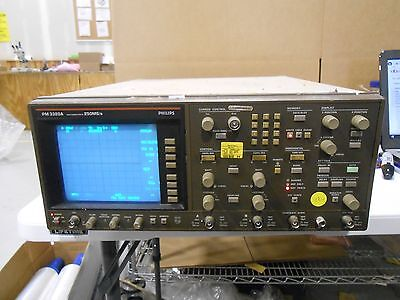 Philips Pm 3320a Max Sample Rate 250mss Oscilloscope