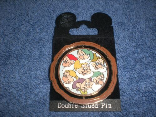Disney 2007 DLR Snow White & Seven Dwarfs 70th  SEVEN DWARFS LE Spinner Pin