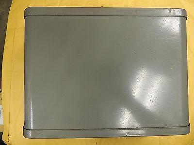 Non-locking Steel Index File Box Holder Storage Metal Industrial ()