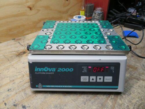 NEW BRUNSWICK SCIENTIFIC MODEL INNOVA 2000 PLATFORM SHAKER TESTED