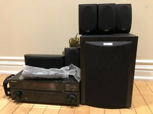 Pioneer receiver with 5.1 Polk audio