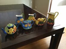 Ceramic jugs & teapots Merewether Newcastle Area Preview