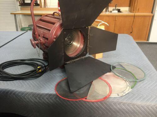 """Mole-Richardson Type 412 Junior Solarspot 10"""", 2K  Fresnel light Complete"""