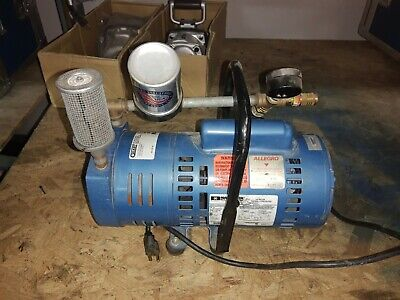 Allegro 9821 Model A-750 Ambient Air Pump 34 Hp Motor