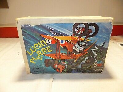 Revell Dave Deals Wheels Lucky Pierre Kit H-191-380 Sealed Inside1971