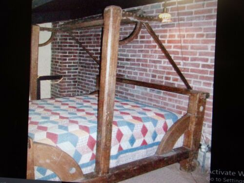 ANTIQUE LOOM BED FULL SIZE-ONE OF A KIND SELLING OUT MAKE OFFER