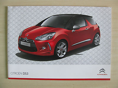 Citroen DS3 UK Sales Brochure (2010)