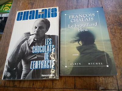 Lotto 2 Libri Di François Chalais I Cioccolatini Di Intermission Il Nebbia Blu