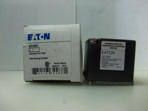 New Eaton Cutler Hammer E51DS1 Proximity Operating Limit Switch Head Series C1 N