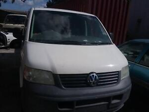 NOW WREAKING VOLKSWAGEN TRANSPORTER WHITE COLOR VANALL PARTS 2014 Dandenong South Greater Dandenong Preview