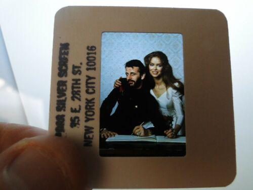 Vintage Original Beatles 35 MM Photo Slide Transparency Ringo Starr           8L