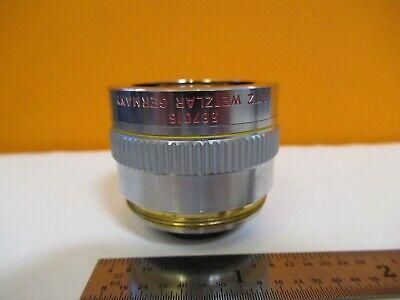 Leitz Leica Objective 567015 Pl Fluotar 10x Optics Microscope Part H8-b-11