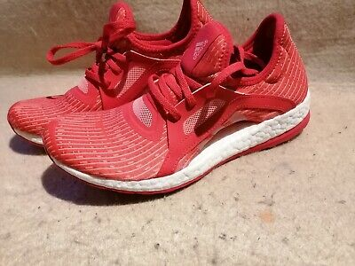 Adidas PureBoost X UK 5.5 Women's Trainers, Red