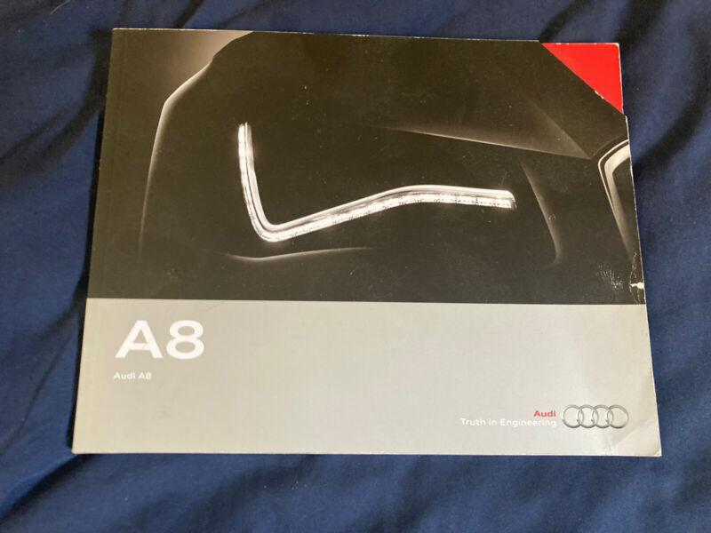 2014 Audi A8 USA 54 Page Color Brochure Catalog Prospekt