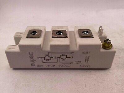 Eupec Igbt Module Bsm75gb60dlc Used