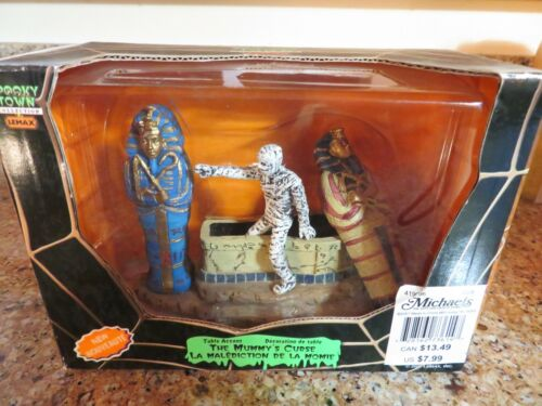 """LEMAX SPOOKY TOWN """" THE MUMMY"""