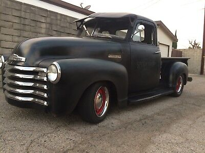 1951 chevy truck all steel hot rod