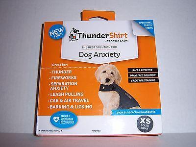 ThunderShirt Dog Anxiety Solution - Extra Small (8-14 lbs) - Grey BRAND NEW