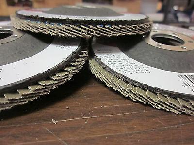 25pc Aluminum Oxide 40-grit 4-12 Sanding Grinding Wheel Flap Disc 78 Arbor