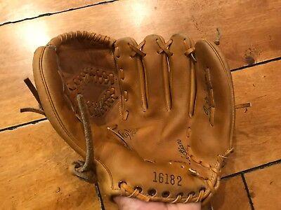 Details about  /Vtg Antique Rawlings 241 Del Rice Deep Well Model Catcher/'s Mitt Baseball Glove