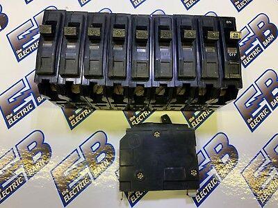 Square D Qo120 1 Lot Of 10 20a 120v 1p Black Circuit Breaker - Warranty