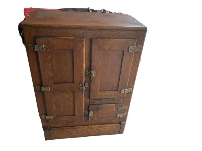 1920s Antique Icebox