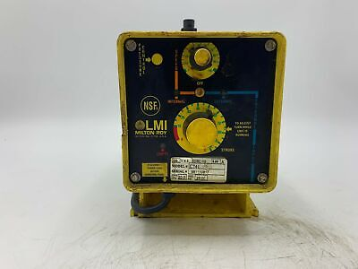 Lmi Milton Roy C741-36 981110817 Electromagnetic Dosing Pump