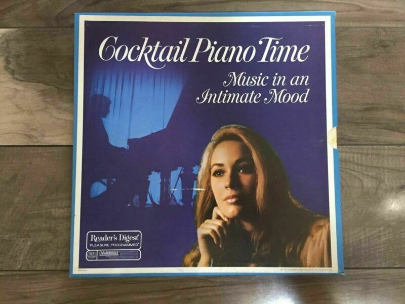 Cocktail Piano Time 5 Record Set, Reader's Digest,  RCA Vinyl LP