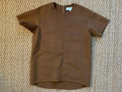 Lee Mathews Dallas Cashmere Short Sleeve Top Size S Small
