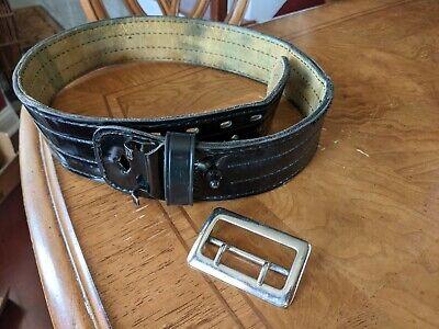 Safariland Mdl 87 Police Duty Belt Basket Weave Black W Buckle 3690