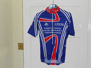 Team-GB-SKY-London-2012-PDP-Rider-Issue-cycling-bike-shirt-jersey-Adidas
