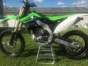 2013 Kawasaki KX450F MINT 5.2hrs Reduced! $56Bi-Weekly OAC