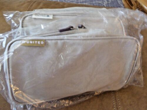 United Airlines FIRST Class Amenity kit LIMITED EDITION ASH COLOR, New