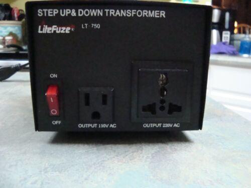 LiteFuze LT-750 Voltage Converter Transformer