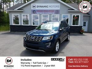 2017 Ford Explorer XLT AWD! 7-PASS! LOW KMS!