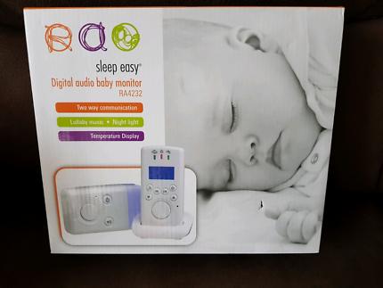 ×2 Sleep Easy digital audio baby monitor(BRAND NEW)