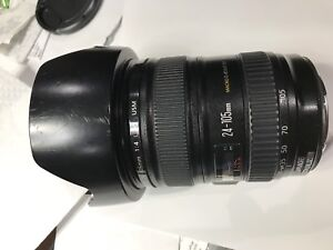Canon 24-105mm F4 L IS, Excellent Condition, prix negotiable
