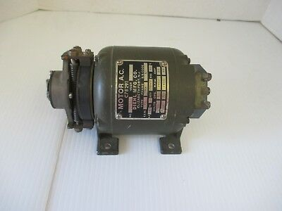 Diehl Mfg. Co. Small Motor A.c. C78291 - 140th Horse Power Made In Usa