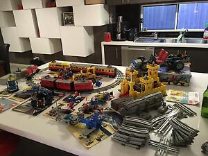 Lego 80s  trains, technic, space over 60 manuals plus 8 containers. Pakenham Cardinia Area Preview