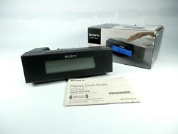 Sony ICF-C707 Clock Radio AM/FM Dual Alarm Backlit LCD Display Nature Sounds Box