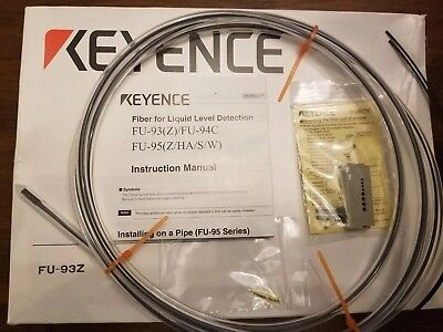 New In Box Keyence Fiber Optic Sensor Fu-93z