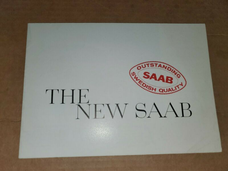 1964 New Saab  brochure