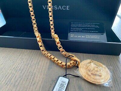 Versace Medusa Necklace - NEW - NEVER WORN STILL IN PLASTIC - RRP £550