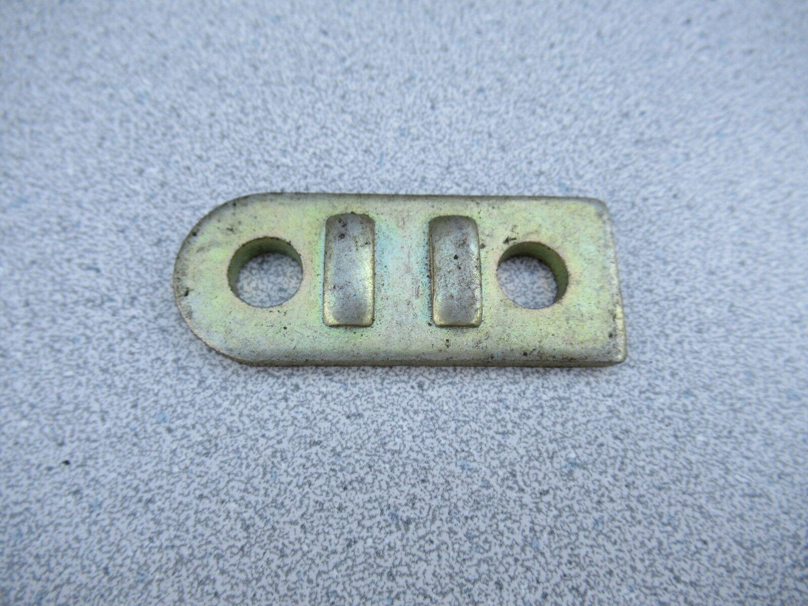 Porsche 911/912 Front Stabilizer Guide plate  C#107  part# 901 343 763 00