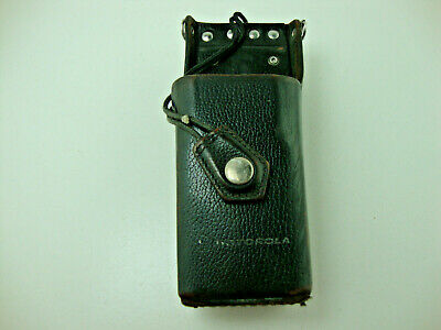 Motorola Leather Two-way Radio Belt Holster Holder Pouch