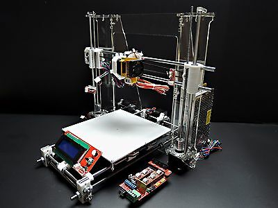 [SINTRON] 3D Printer full complete Kit for Reprap Prusa i3 ,MK3 heatbed,LCD,MK8