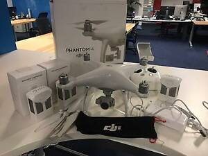 DJI Phantom 4 + 3 batteries + 32GB Micro SD + In original box Canberra City North Canberra Preview